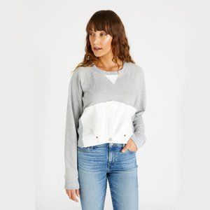 etica Upcycled Block Sweatshirt